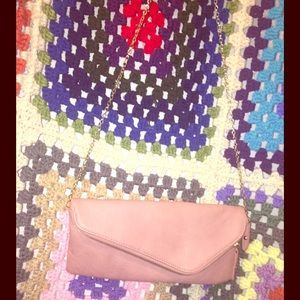 Pink Clutch by Urban Expressions / pu & polyester